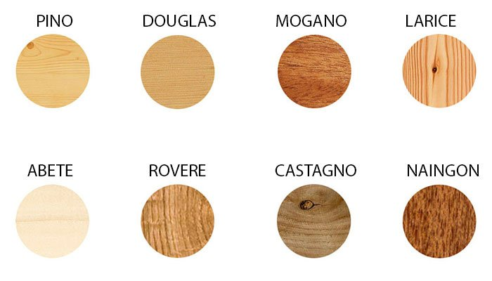 Essenze legnose per infissi in legno