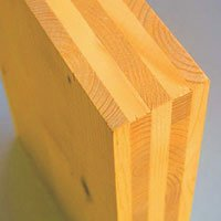 Serramenti in legno lamellare