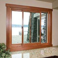 finestra scorrevole in legno / alluminio