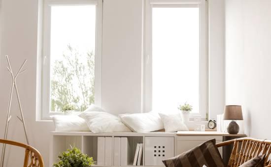 Finestre in PVC con prestazioni termiche | Creazione per una zona relax
