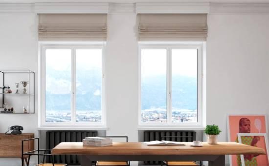 Finestre in stile moderno in PVC | fornitura eseguita a Castellarano