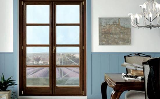 Finestre e porte finestre in legno e alluminio immagini