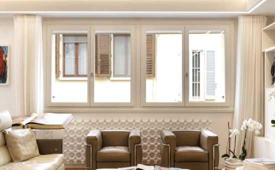 Foto serramenti in PVC di una casa moderna a Collecchio