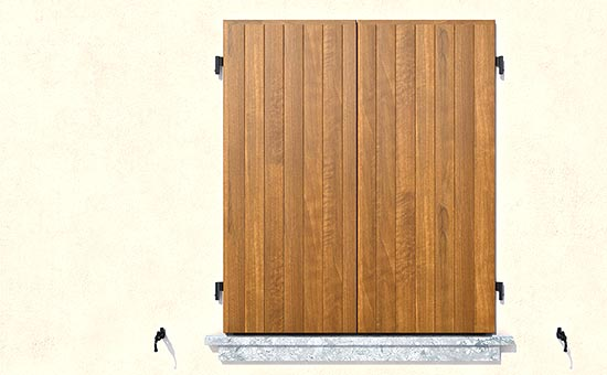 Scuri in legno nuovi e moderni