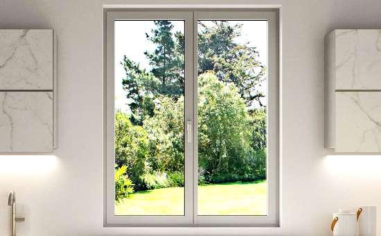 Immagini di una finestra in alluminio | Lavoro eseguito a Modena
