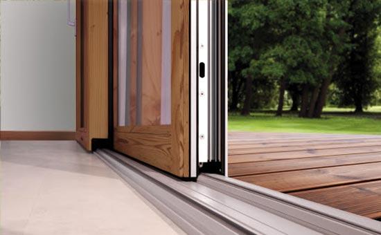 Serramenti in legno alluminio scorrevoli