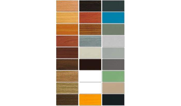 Tabella colori possibili serramenti