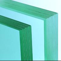 Vetro stratificato per infissi a tutto vetro foto