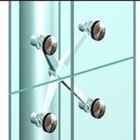 Vetro strutturale per infissi a tutto vetro foto