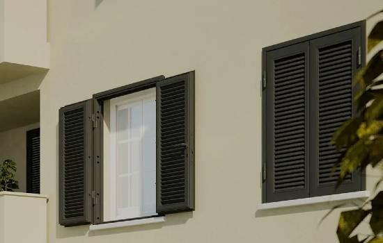 Persiane in acciaio blindate per appartamento in centro a Piacenza