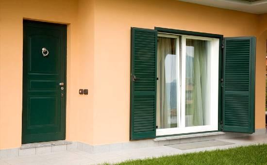 Persiane in acciaio blindate per appartamento in centro a Reggio Emilia